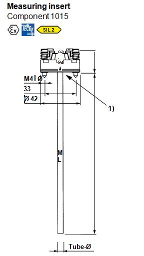 MOSER  测量插管元件1015